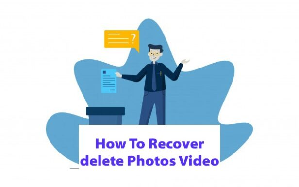 How To Recover deleted photos videos !deleted photos videos recover kaise kre