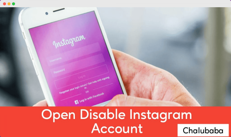 How to unbanned instagram banned account Open Disable Instagram