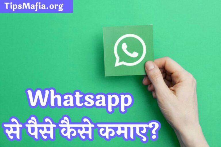 Whatsapp से पैसे कैसे कमाए | पैसे कमाने के तरीके