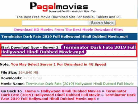 Pagalmovies 2021 – Illegal HD Movies Download Website