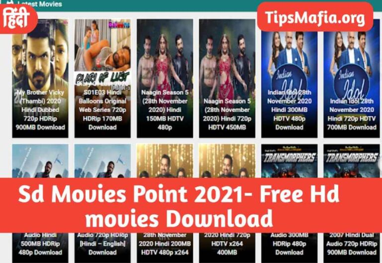Sd Movies Point 2021- Free Hd movies Download SdMoviesPoint